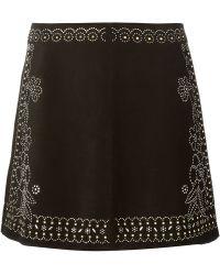 Valentino Beaded Skirt - Lyst