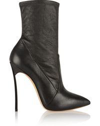 Casadei Leather Boots - Lyst