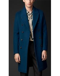 Burberry Cashmere Wool Topcoat - Lyst