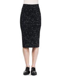 Proenza Schouler Splatter-print Pencil Skirt - Lyst