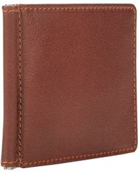 Barneys New York Money Clip Bifold Wallet - Lyst