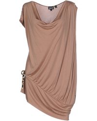 Just Cavalli Top brown - Lyst