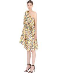 Viktor & Rolf Floral Printed Jacquard Dress multicolor - Lyst