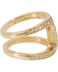 Hoorsenbuhs Pavé Diamond  Gold Dame Phantom Ring - Lyst