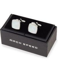 Mach Speed - White Pearl Cuff Links - Lyst