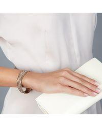 Astley Clarke - Biography Wide Dusky Stones Bracelet - Lyst