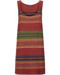 Ralph Lauren Blue Label Knit Tank Dress - Lyst