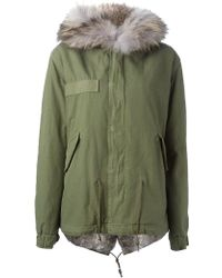 Mr & Mrs Italy - Rabbit Fur Lined Parka - Lyst