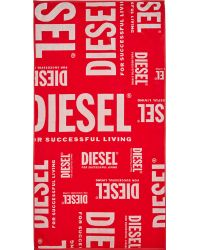 Diesel Red And White Bmt_Helleri Towel - Lyst