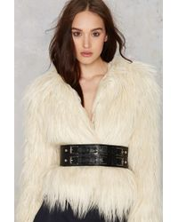 Nasty Gal - Get Waisted Buckle Belt - Lyst