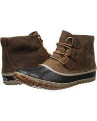 Sorel Out N About Leather - Lyst