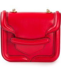 Alexander McQueen Heroine Cross Body Bag - Lyst