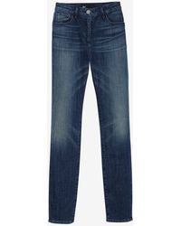 3x1 W3 Chopper High Rise Skinny - Lyst