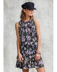 Poupette - Foe Mini Dress - Lyst