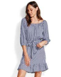 Seafolly - Capri Gingham Dress - Lyst