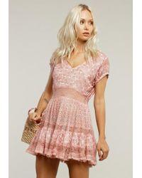 Sunday Saint Tropez - America Dress Pink - Lyst