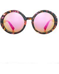 Taylor Morris - Vivien Sunglasses Amber/pink - Lyst