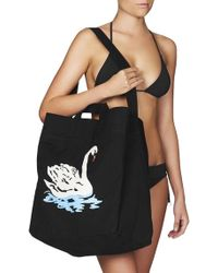 Stella McCartney - Iconic Swan Tote Bag - Lyst