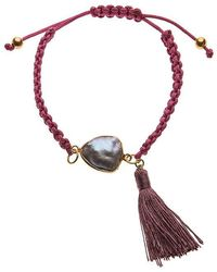 Ashiana - Purple Friendship Bracelet - Lyst