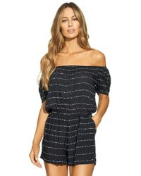 ViX - Stripe Dot Mini Jumper - Lyst