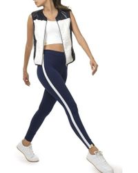 Monreal - Athlete Leggings Indigo/white - Lyst
