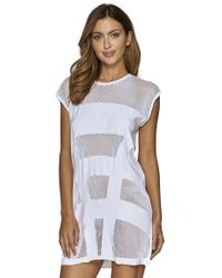 Jets by Jessika Allen - Parallels Shift Dress - Lyst