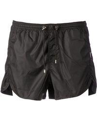 Neil Barrett Swim Shorts - Lyst