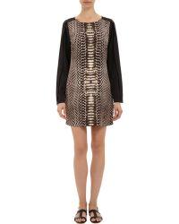 Twelfth Street Cynthia Vincent - Python-Print Shift Dress - Lyst