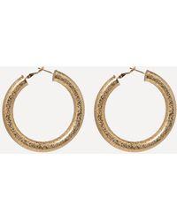 Bebe - Thick Hoop Earrings - Lyst