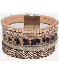 Bebe - Mix Strand Bracelet - Lyst