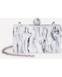 Bebe - Marble Clutch - Lyst