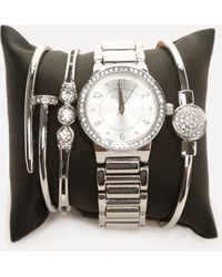Bebe - Watch & Bracelet Set - Lyst