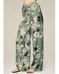 Bebe - Petite Print Pyjama Trousers - Lyst