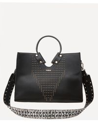 Bebe - Isabella Studded Tote - Lyst