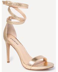 Bebe - Athena Wrap Sandals - Lyst