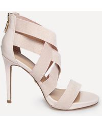 Bebe - Emihly Strappy Sandals - Lyst