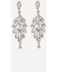 Bebe - Crystal Drop Earrings - Lyst