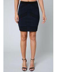 Bebe - Kaia Knit Skirt - Lyst