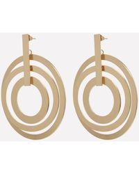 Bebe - Multi-circle Drop Earrings - Lyst