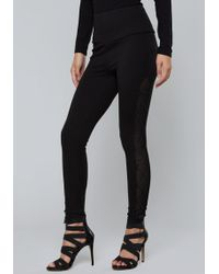 Bebe - Bungee Leggings - Lyst