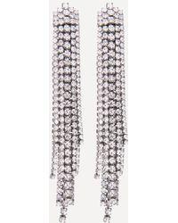 Bebe - Crystal Drama Earrings - Lyst