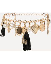 Bebe - Multi-charm Bracelet - Lyst