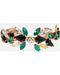 Bebe - Crystal Cluster Bracelet - Lyst