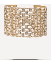 Bebe - Crystal Mesh Bracelet - Lyst