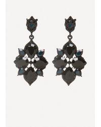Bebe - Starburst Drop Earrings - Lyst