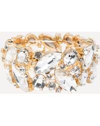 Bebe - Ornate Crystal Bracelet - Lyst
