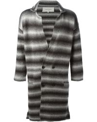 Casely-Hayford - Striped Coat - Lyst