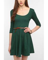 Sparkle & Fade - 34 Sleeve Knit Skater Dress - Lyst