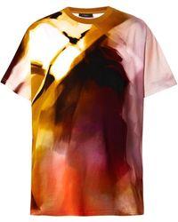 Givenchy Columbianfit Abstractprint Tshirt - Lyst