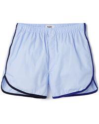 Sleepy Jones - Walt Track Boxer Shorts - Lyst
